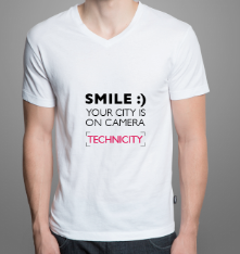 Smile :)<br/>Your city is on camera<br/>Technicity