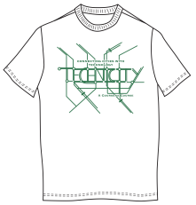 An iteration of my earlier design. The first design was based on a subway map. Without the various colors it looks more like a computer chip