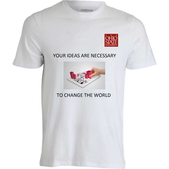 YOUR IDEAS ARE NECESSARY    TO CHANGE THE WORLD