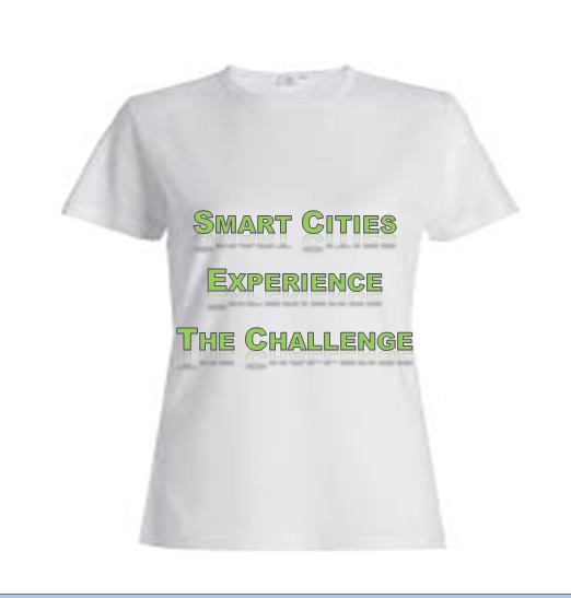 It's a logo to spread to the world the need and benefits of smart cities, and people to take the challenge to experience the difference.