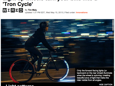 Bicycle Lights of the Future