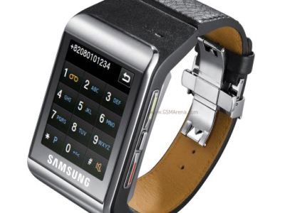 Samsung's S9110 Touch Screen Watch Phone