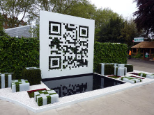 "QR Code Garden at  RHS Chelsea Flower Show 2012<br/>http://www.qrcodegar<wbr/><span class=""wbr""></span>den.co.uk/about-the-<wbr/><span class=""wbr""></span>garden/"