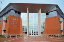 "Taft High School in Cincinnati's Public Schools is the first school in Ohio to receive LEED platinum certification.<br/><br/>http://cincynotebook<wbr/><span class=""wbr""></span>."