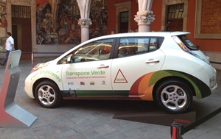 Aguascalientes is improving its public transportation by implementing electric taxis, Nissan and the government are main sponsors of project