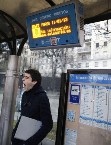 Information Screen system at bus stops