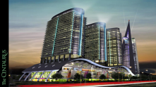 This is the newest building in capital city Islamabad. Centaurus, is multi use project.