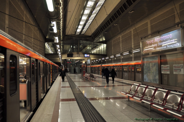 Metro Rail System in Athens,Greece is on of the most modern in Europe, using efficient technologies.
