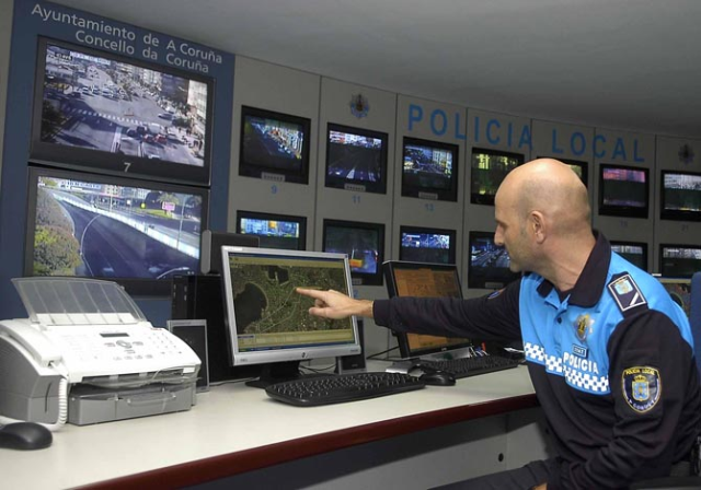 Center of operations of the city police