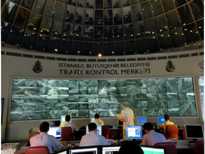 Live real-time Traffic Density Map