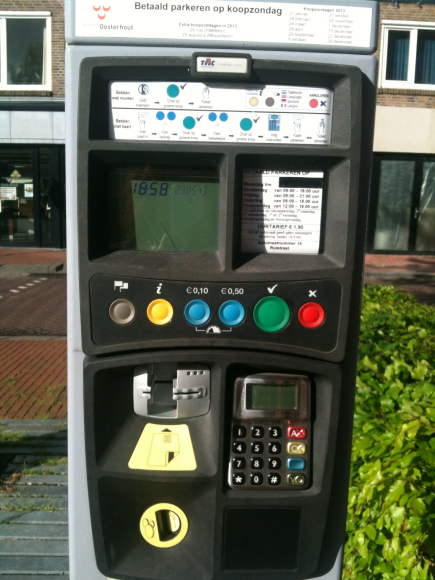 Another system for paying parking