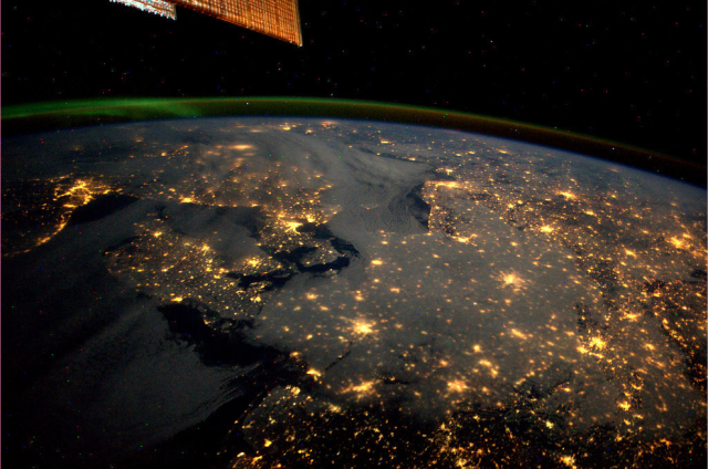 The ISS's view of the global human footprint at night