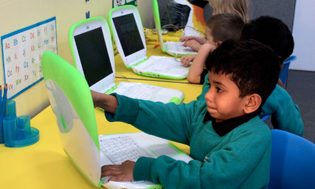 Technology classes a part of school curriculum