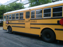 GPS tracking for school busses. Know when the bus will arrive. Rest assured that your child has safely gotten on and off the bus.