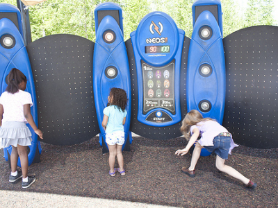 Help a school purchase an electronic play equipment system