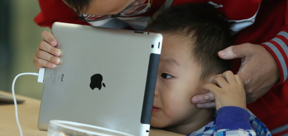 Research is being conducted into on the possible Neurological effects of children and tablet use