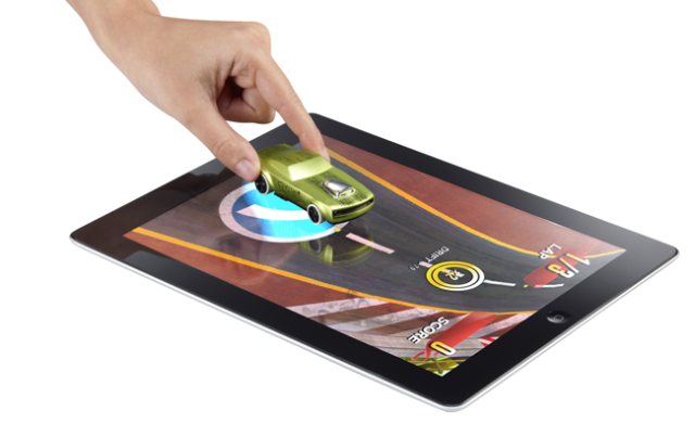 Apptivity Toy meets tablet Hot Wheels