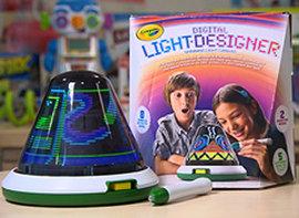 Crayola Digital Light Designer http://www.crayolastore.com/