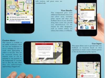 SmartRun: Smart Safety Application for Pedestrian Activity