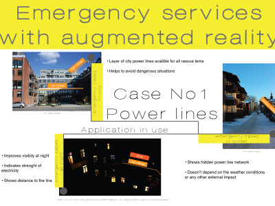 Emergency services with Augmented Reality (AR)