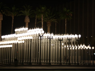 Los Angeles Museum of Modern Art - Urban Light Post Exhibit