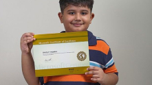 Shafay Thobani, an eight-year-old child from Pakistan becomes world's youngest Microsoft Certified Technology Specialist