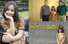 at the age of 9, Arfa Karim from Lahore Pakistan became the world's youngest Microsoft Certified Professional (MCPs).<br/>