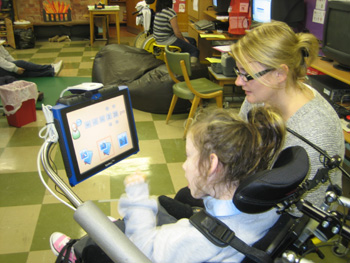 Technology to empower special children with knowledge