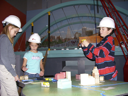 City planning exhibit at Providence, RI Children's Museum http://childrenmuseum.org/exhibits/iway.asp