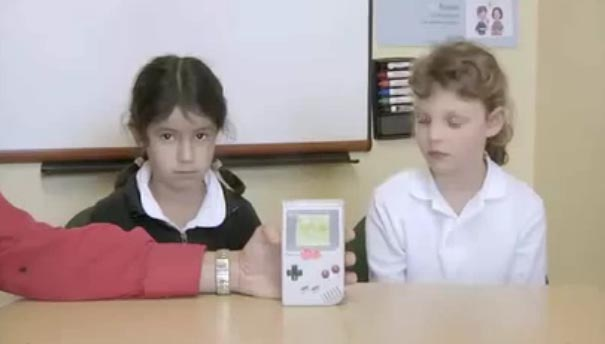 Kids and old technologies - old but awasome. Show the tech evolution http://www.youtube.com/watch?v=gdSHeKfZG7c&feature=player_embedded