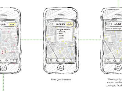 U-Drift: A personalized drifting app for Utrecht