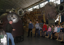 Children in Cosmonaut Training Center