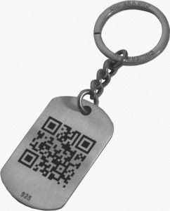 QR Codes for lost kids with parents contact number inside