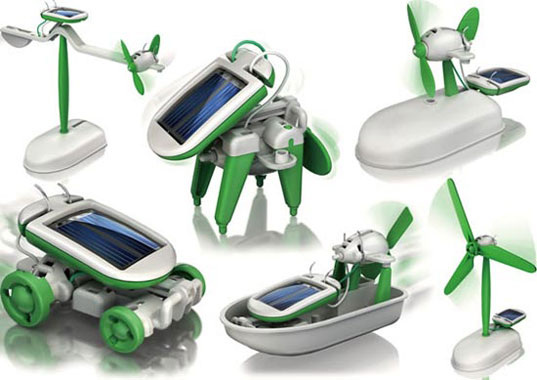 It´s important to teach our kids to take care of our environment. Solar devices for little ones.
