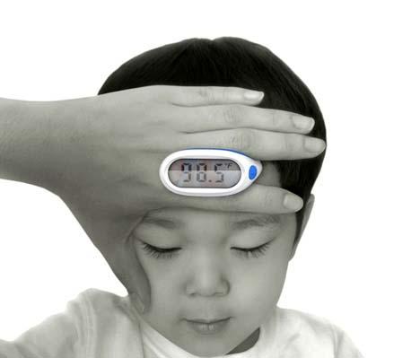 Temperature meter for kids