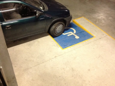 RFID parking lot monitor.