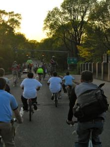 Great bike lanes!