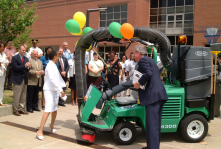 Upper Albany Main Street, Hartford: Mac-the-Vac Dedication