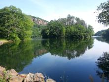 Morning hike through Hubbard Park, Meriden CT