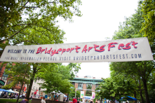 The Bridgeport Arts Fest. Celebrating local + original art and Artists!