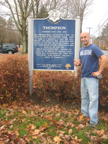 The most farthest north easter town and pround of it, Thompson!!! Do you know that our country's 1st asphalt paved racetrack is here.
