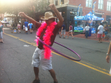 The SONO Arts festival inspires creative hula hooping