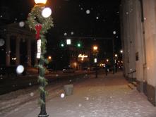 SONO in the winter is festive