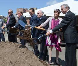 Groundbreaking of 100 College St Development Project