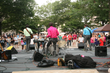 The Downtown Thursdays summer concert series on historic McLevy Green in downtown Bridgeport attracts thousands of visitors to the city.