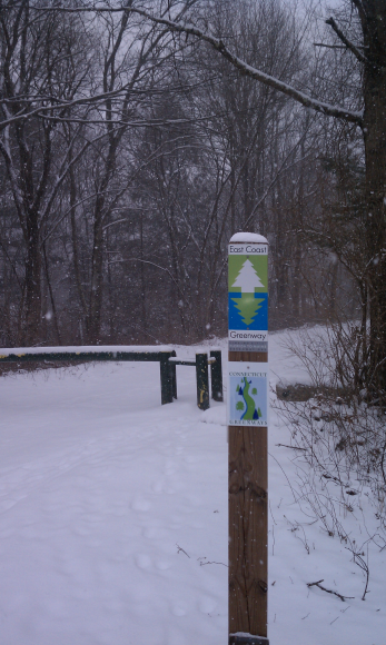 Eastcoast Greenway/Hop River State Park Trail. Andover CT