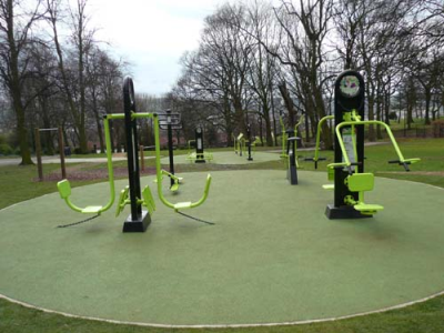 Outdoor Gym/Adult Playground
