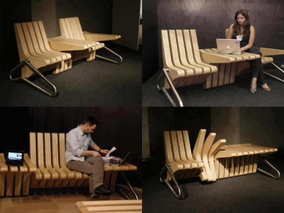 Another Idea for Friendly Public Seating