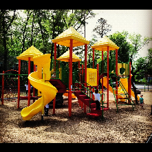 Walltown Park new playground equipment installed in early spring of 2012