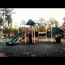 Cook Road Park is home to fairly good size play structure as well as, tennis courts, a multipurpose field and a Volley ball court.